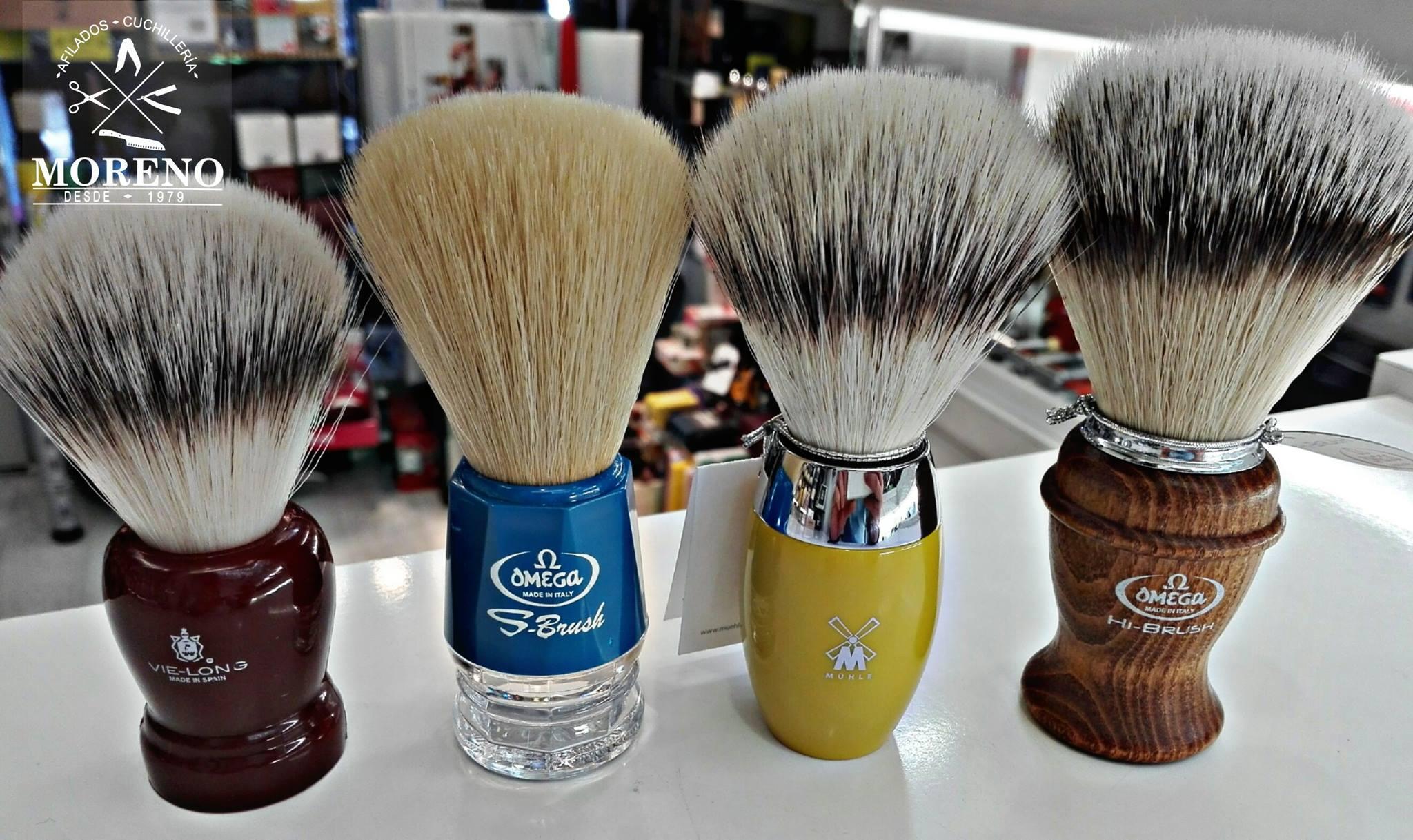 Por qué elegir una brocha de afeitar sintética