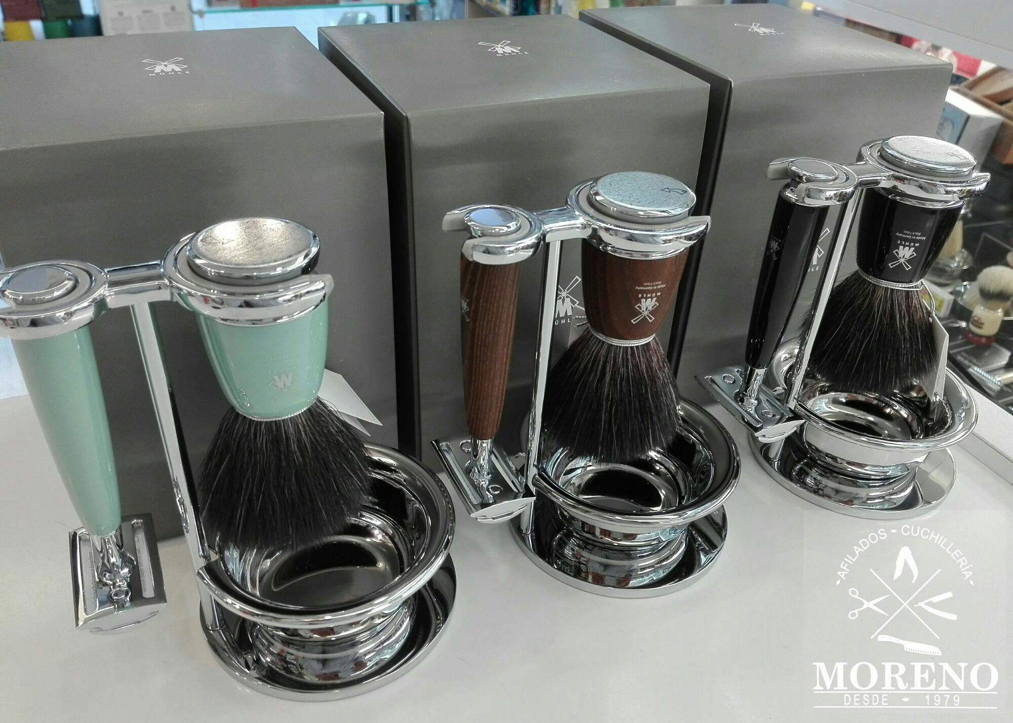 Set de afeitado Mühle Rytmo fibre
