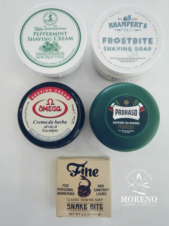 TOP 5 de las cremas de afeitar más refrescantes. VÍDEO en nuestro blog