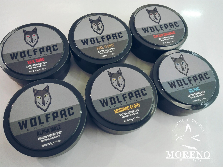 Nuevos jabones de afeitar artesanales australianos Wolfpack