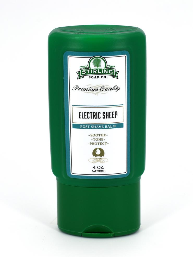 after shave balsamo stirling electric sheep